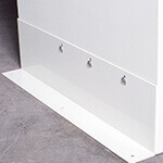 "31""D Floor Anchors For Secure Storage Cabinets"