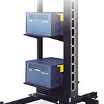 "2-Post Relay Rack (54""H) Pro 1 & 28""D Cabinets"