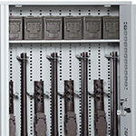 M2 Receiver and Barrel Storage Weapon Storage Components