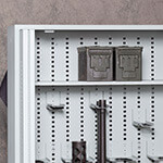 Bi-Fold Weapon Rack Ammo Storage Shelf