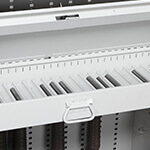 Bi-Fold Weapon Rack Bolt Drawer Weapon Storage Component