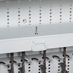 Bi-Fold Weapon Rack Drawer With Locking Lid Weapon Storage Component