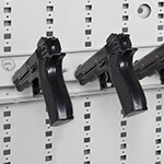 6-Capacity Pistol Peg Weapon Storage Component