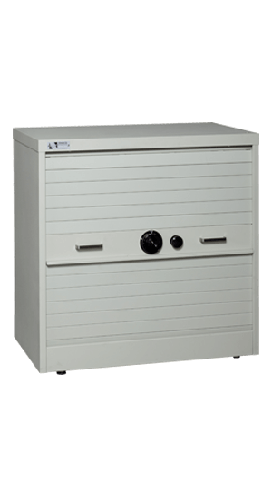 36 Inch High S&G Secure Storage Cabinet Closed - National Master Standing Offer