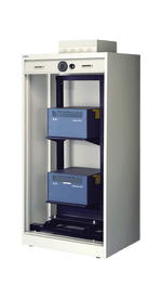19 Inch S&G Secure Rack Mount Cabinet - 28 Inch D - National Master Standing Offer
