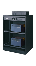 56.5 Inch High S&G Secure Crypto Cabinet With Servers - National Master Standing Offer