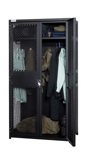 TA-50 Locker Partially Opened With Gear Storage
