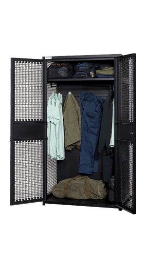 TA-50 Locker Open With Gear Storage