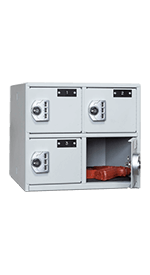 4-Compartment Sidearm Locker