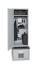 Constable Locker Open